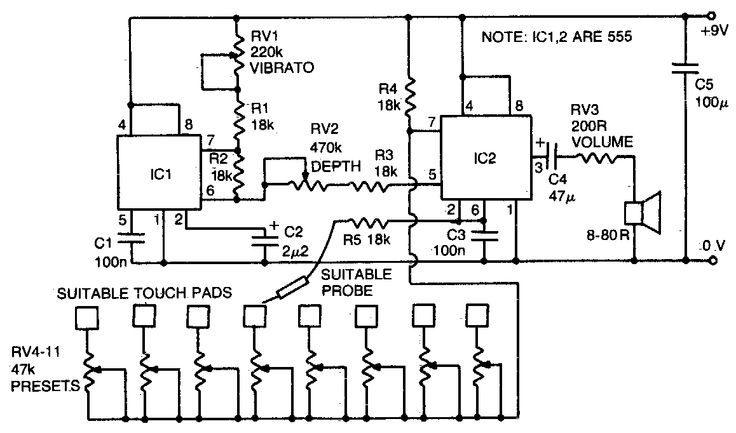 circuit simple electronics projects electronic circuits and diagram
