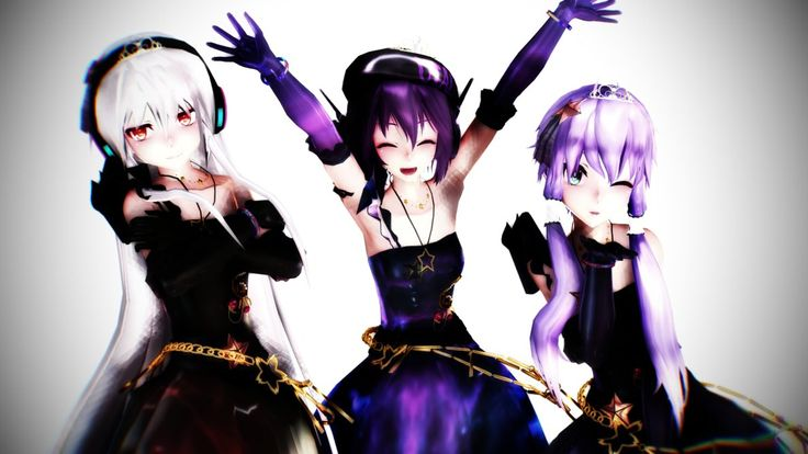 3d Wallpaper Made In China Mmd Tda Galaxie Girls 6 Latest Models For Now By