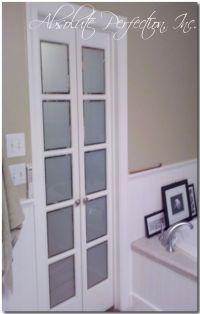 French Pane Bathroom doors, replace bathroom door with ...