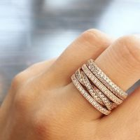 Best 25+ Pandora rings stacked ideas on Pinterest