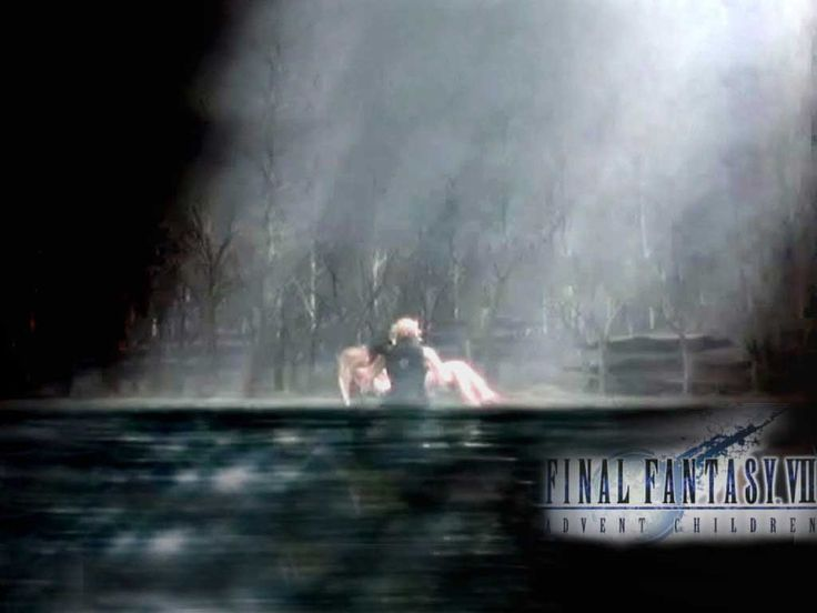 Fall Themed Wallpaper Desktop Cloud And Aerith Aerith And Cloud Wallpaper Background