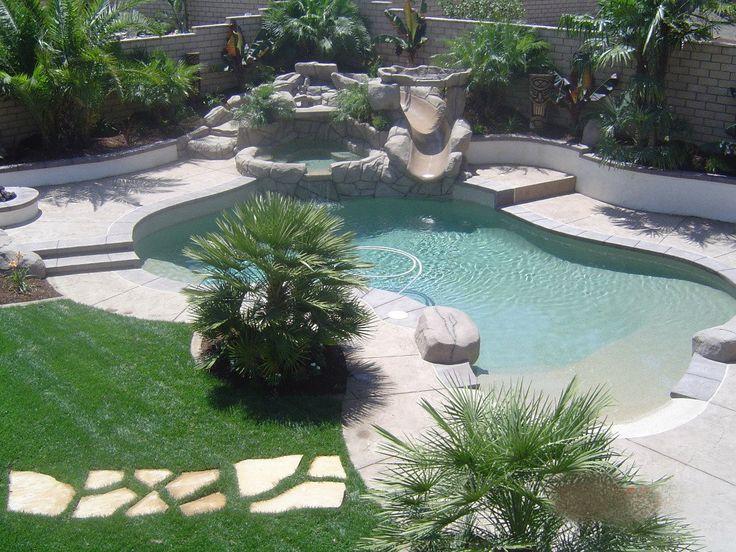 Tropical Backyard Tiki Paradise In Corona California By