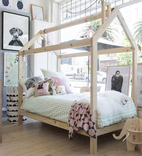 Norsu Interiors Norsu Interiors Timber House Bed