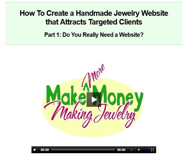 How To Create A Handmade Jewelry Website That Attracts