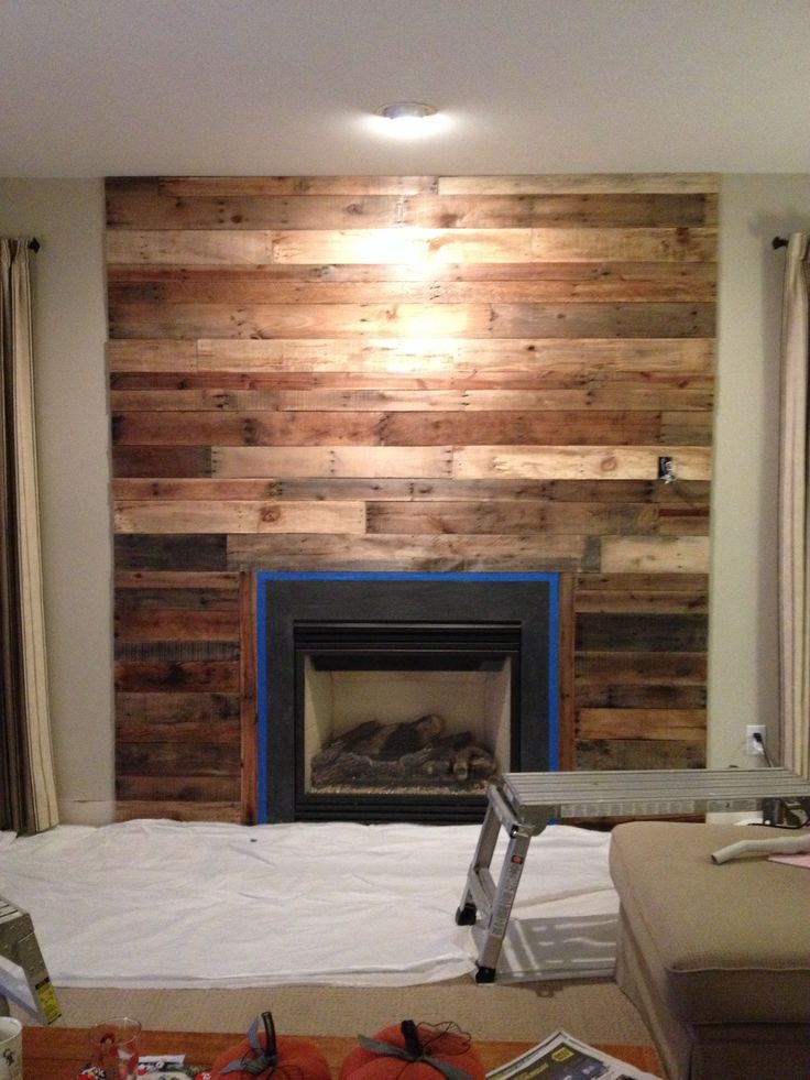 25+ best ideas about Wood fireplace surrounds on Pinterest