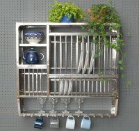 Stainless Steel Plate Rack-Large | kitchen | Pinterest ...