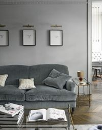 25+ best ideas about Grey velvet sofa on Pinterest