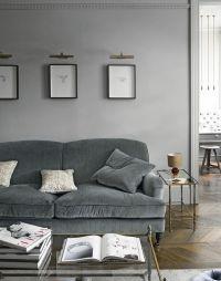 25+ best ideas about Grey velvet sofa on Pinterest | Gray ...