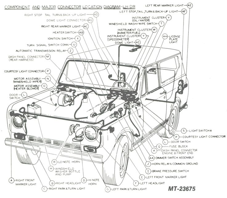 1980 scout ii wiring diagram