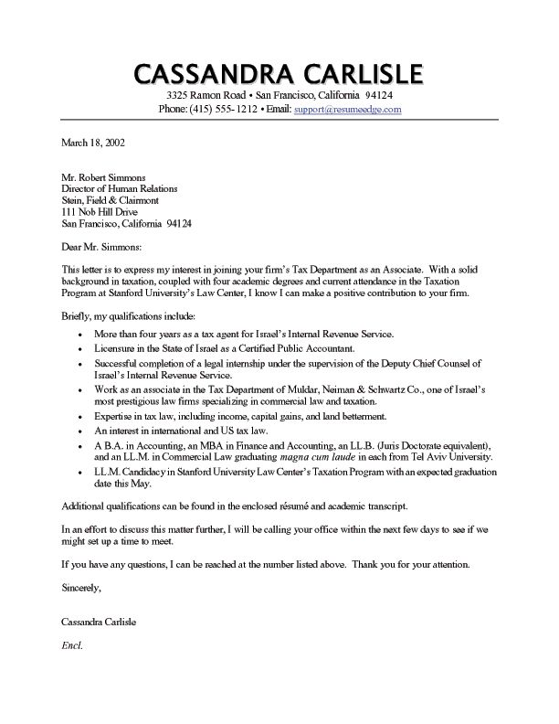 accounting consultant cover letter
