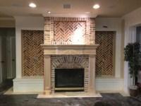 Old Chicago brick w/ custom mantle | House Ideas ...