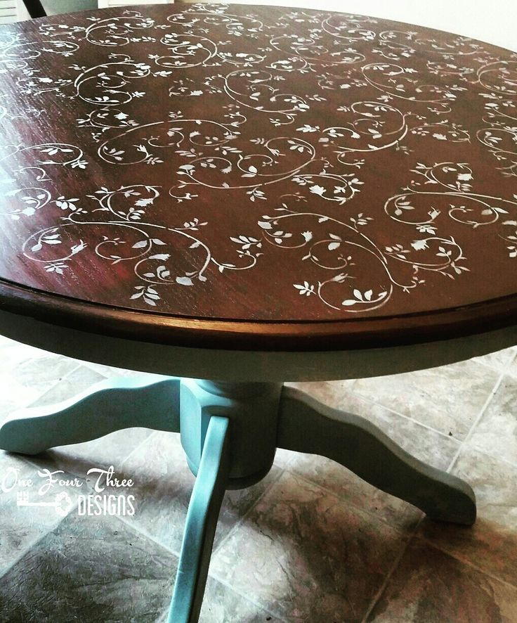 25+ Best Ideas about Stencil Table Top on Pinterest