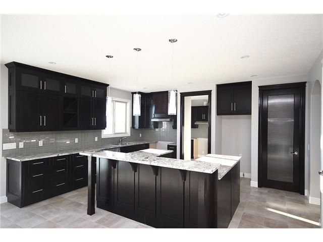 Dark Gray Kitchen Cabinets With Light Gray Walls Kitchen - Dark Cabinets, Lighter Grey Walls | Reno/home