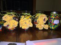 Lion King centerpiece | Baby shower ideas | Pinterest ...