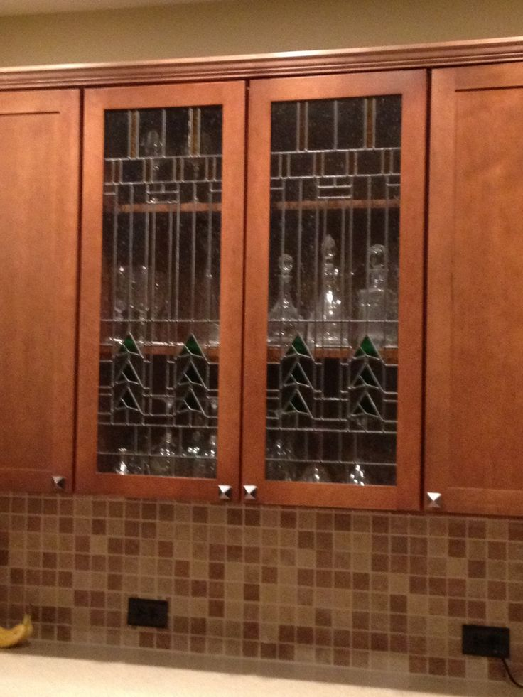 17 Best Images About Stained Glass Kitchen Cabinets On
