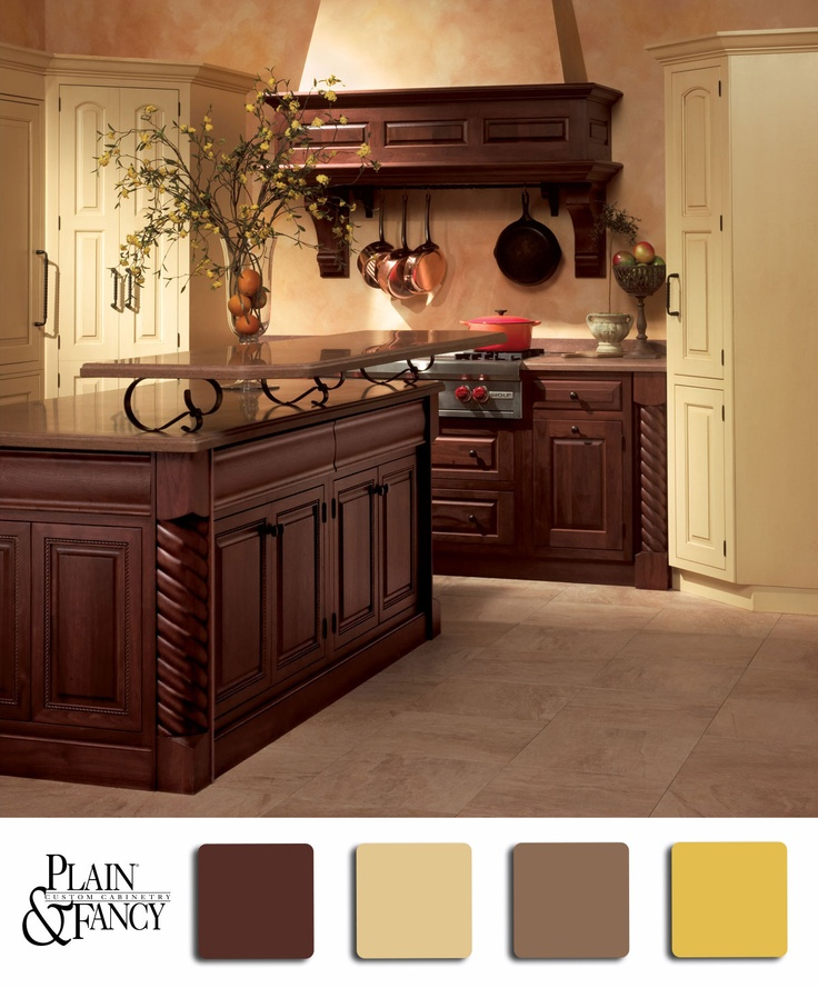 Yellow Kitchen With Dark Brown Cabinets 47 Best Yellow And Brown Kitchens Images On Pinterest
