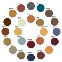 Earthy colors- color wheel. | Cores em tudo que eu vejo ...