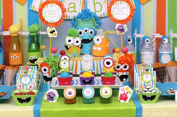 1000+ ideas about Monster Baby Showers on Pinterest