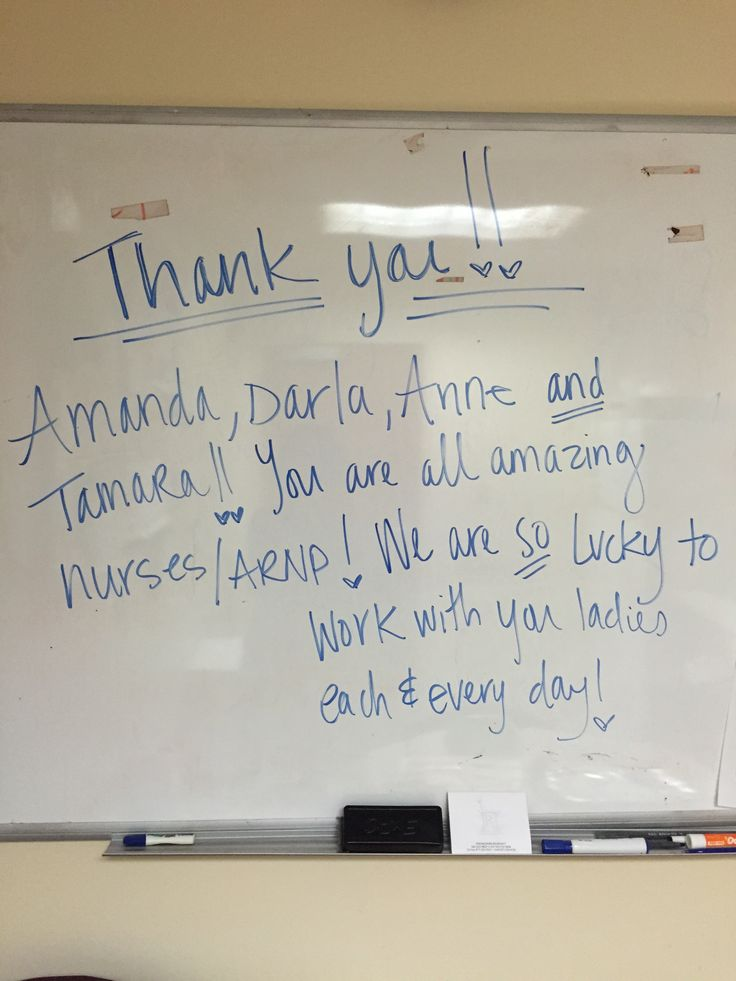 thank you note for doctors and nurses