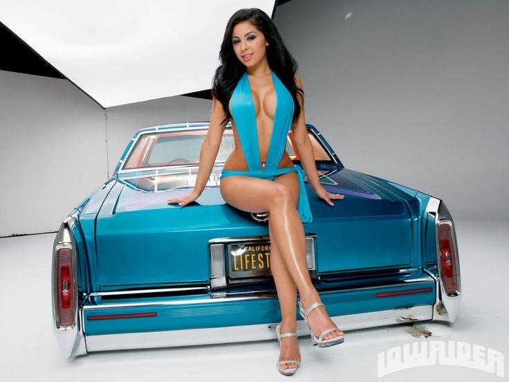 Girls And Lowrider Wallpaper Pic Lifestyle Car Club Us Vs Them Model Elvida Santos 28