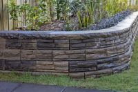 Retaining wall for backyard | The Hill | Pinterest ...