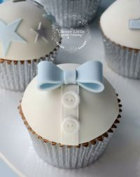 Bow Tie Baby Shower Cupcakes | www.imgkid.com - The Image ...