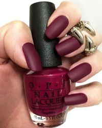 Best 25+ Red matte nails ideas only on Pinterest | Maroon ...