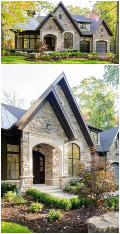 Best 25+ Stone exterior houses ideas on Pinterest