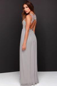 17 Best ideas about Grey Lace Dresses on Pinterest