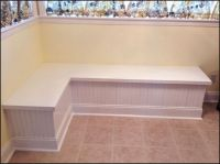 Corner Storage Bench Kitchen Table