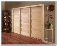 Stunning Triple Bypass Sliding Closet Doors 732 x 591  90 ...