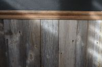 wainscoting with old wood - Google Search | HOME: Inside ...
