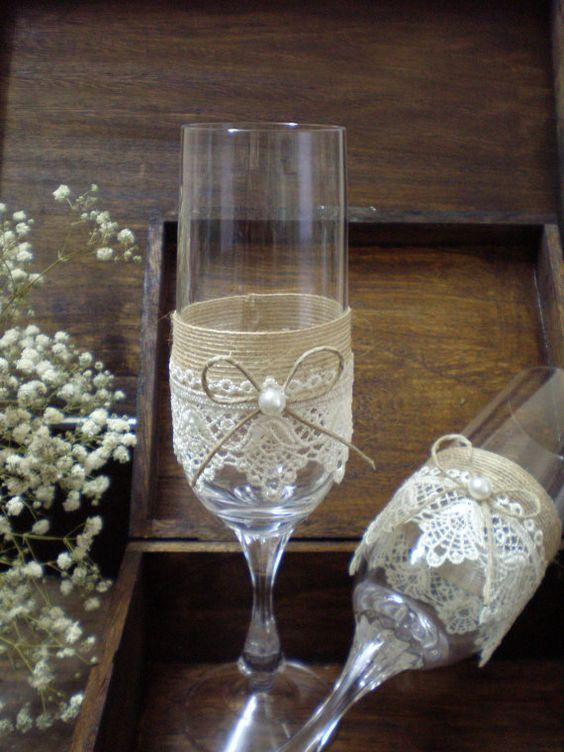 bride to be wine glass bridal shower from makeitfierce on etsy