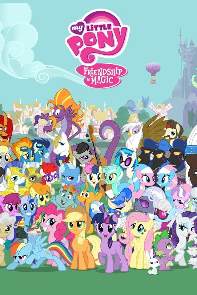 Equestria Girls Android Wallpaper Season 1 Group Shot Mlp My Little Pony Friendship Is