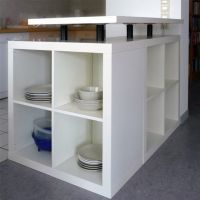 DIY IKEA Hack: L-Shaped Expedit Kitchen Island | DIY ...