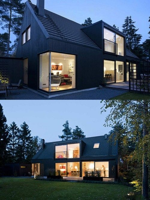 Swedish Design House Scandinavian House 2 By Mewa | Architecture | Pinterest