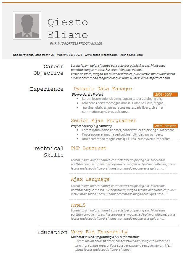 1000+ Images About Resume On Pinterest | Creative Resume, Online