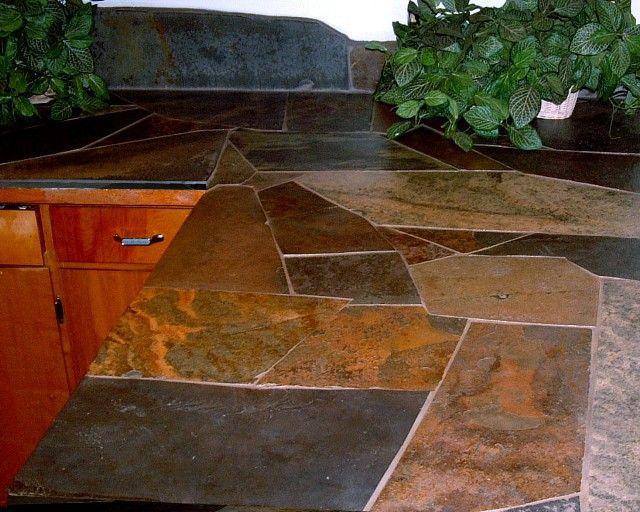 Slate Countertop Cheap Glamorous Honed Slate Countertop