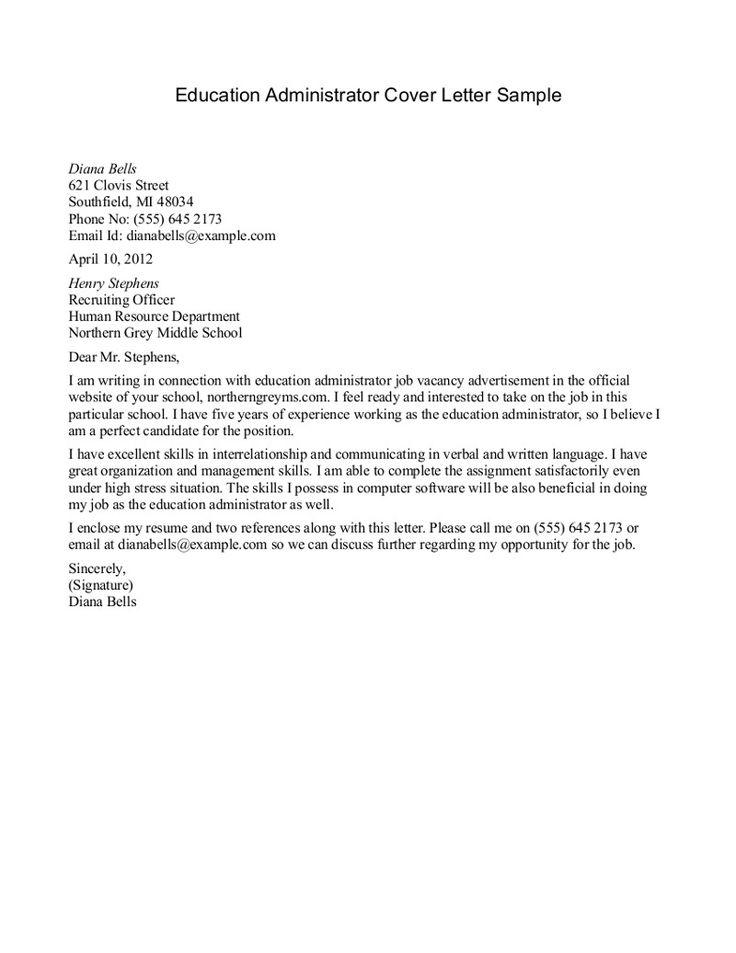 Special Education Teacher Cover Letter For Resume Sample Cover Letter Good One For Education Jobs Job