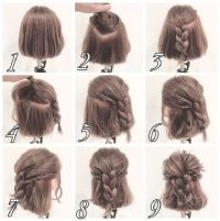 17 Best ideas about Half Braided Hairstyles on Pinterest ...
