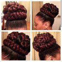 Best 20+ Faux bun ideas on Pinterest   Kanekalon hair ...