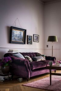 25+ best ideas about Purple Sofa on Pinterest | Purple ...