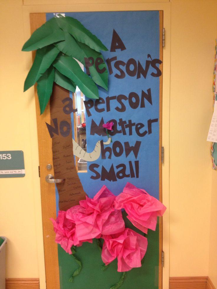 28 best images about Dr.seuss door decorations on