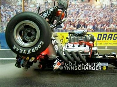 Diorama of Garlits' clutch explosion at Lyons! - gfx | COOL THINGS I LIKE | Pinterest ...
