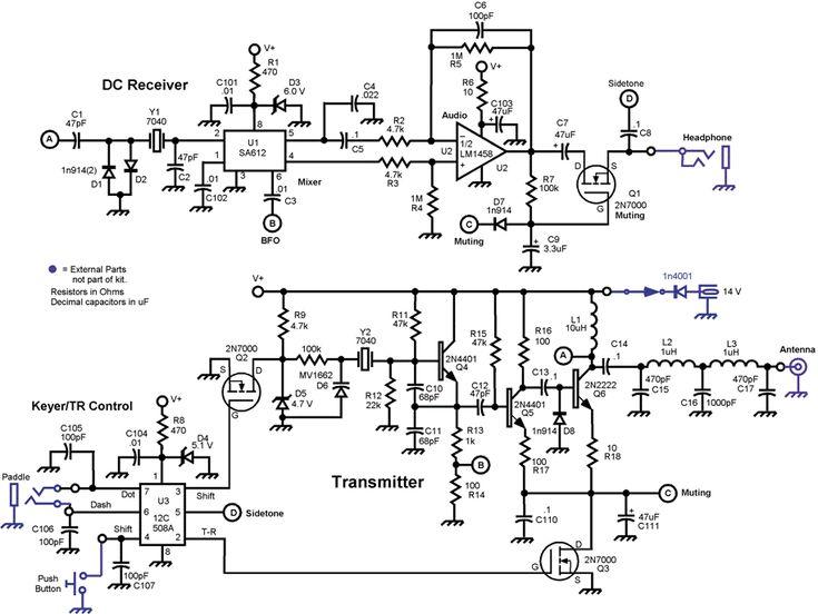 satellite visual schematic