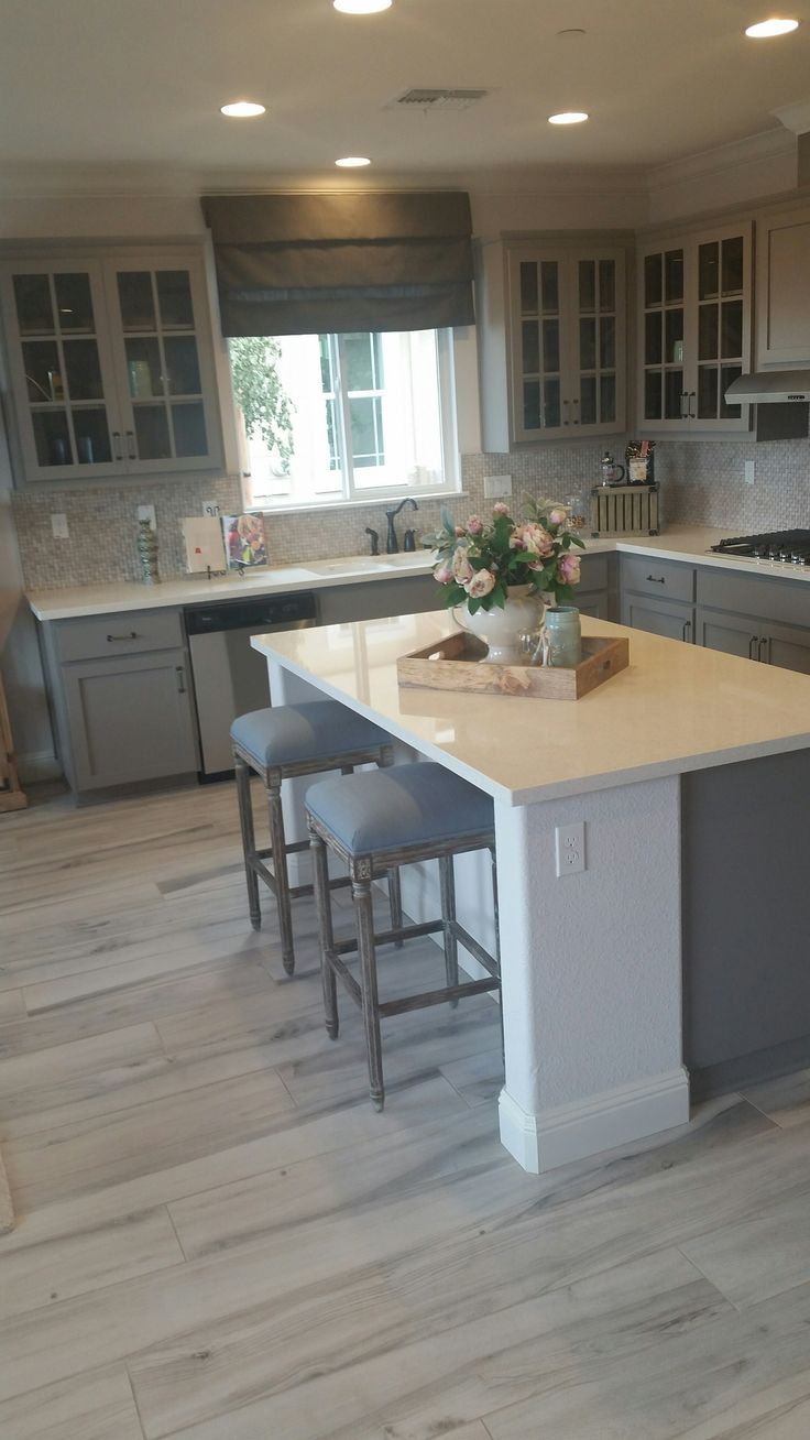 gray tile floors flooring for kitchen Visit www antonsfloors com au to have a look at our timber samples