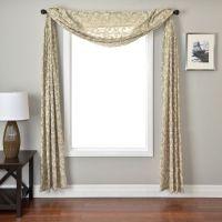 Best 20+ Window Scarf ideas on Pinterest | Curtain scarf ...