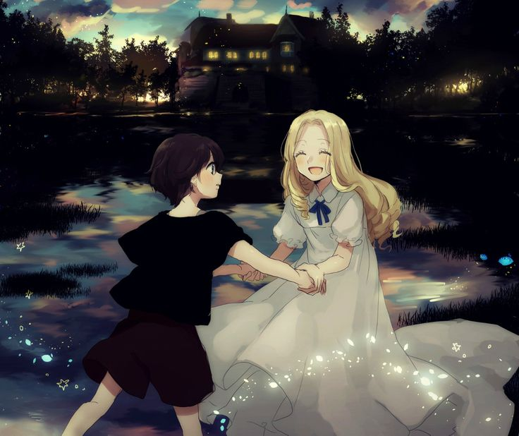 Cute Relationship Quotes Hd Wallpaper Anna And Marnie Omoide No Marnie When Marnie Was There