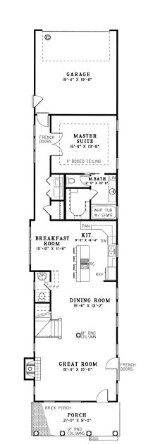25+ best ideas about Narrow House Plans on Pinterest ...