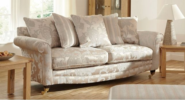 Vienna 4 Seater Sofa Scatter Back